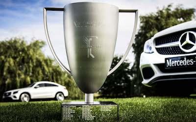 MercedesTrophy on Mercedes-Benzin golfaaville avainasiakkaille tarkoitettu kutsukilpailu. Suomessa vuosittain järjestettävät kilpailut ovat osa Mercedes-Benzin kansainvälistä kilpailusarjaa. Kauden 2021 tapahtumaa suunnitellaan parhaillaan. Kisakentät 2021 julkaistaan tammikuun aikana.